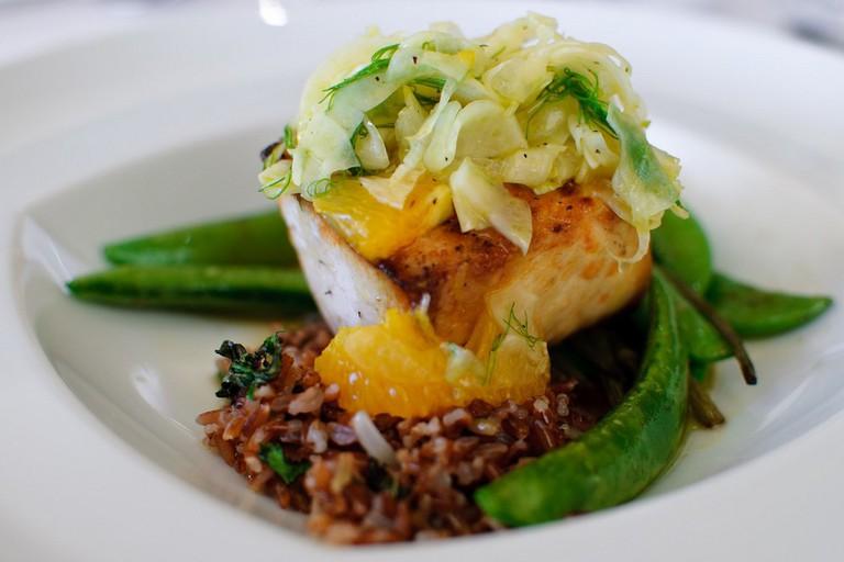 Dinner at Sparkling Hill Resort & Spa