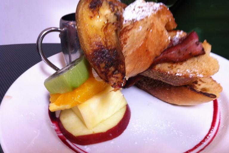 French toast @ vudu cafe