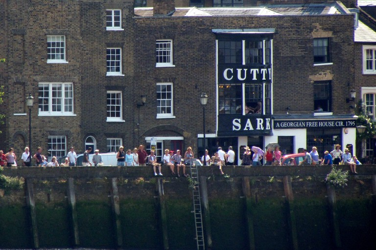 The old local by the Cutty Sark