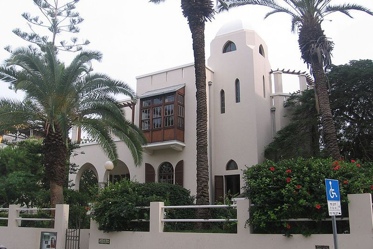 The Bialik House in Tel Aviv was home to Israel's national poet