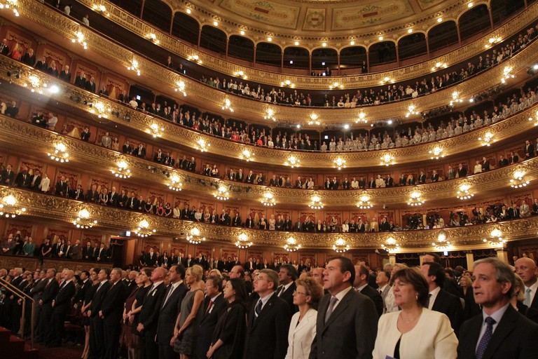 Performance at Teatro Colon