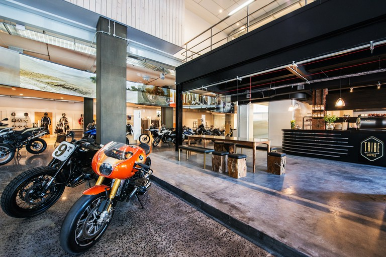 Tribe Coffee at Donford BMW Motorrad