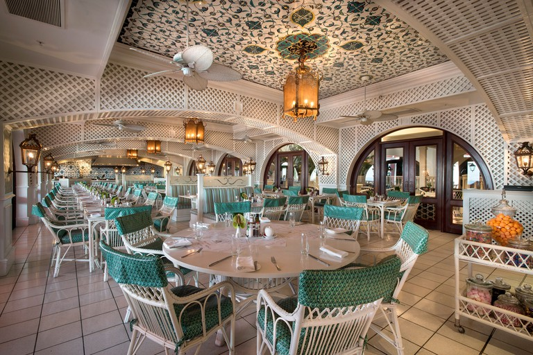 The Ocean Terrace restaurant interior