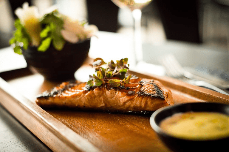 Grilled salmon fillet | Courtesy of The Fisherman, Salthill
