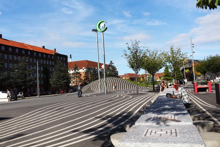 superkilen park Copenhagen urban space