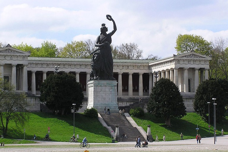 The Bavaria Statue