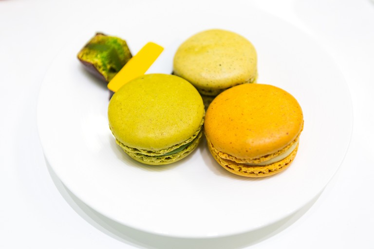 Macarons from Patisserie Sadaharu Aoki