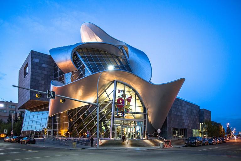 Art Gallery of Alberta's quirky exterior