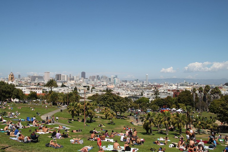 Dolores Park Sunny Day