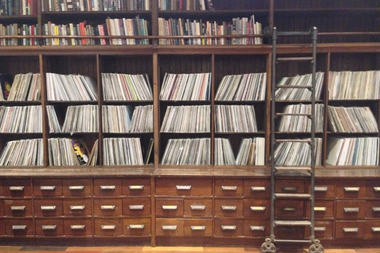 Frankie Knuckles's vinyl collection at Stony Island Arts Bank