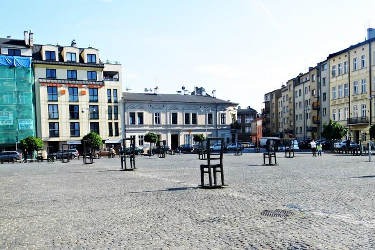 Plac Bohaterów Getta, Krakow