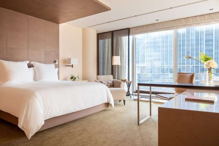 The Four Seasons Hotel Tokyo at Marunouchi is one of the most stylish hotels in the city