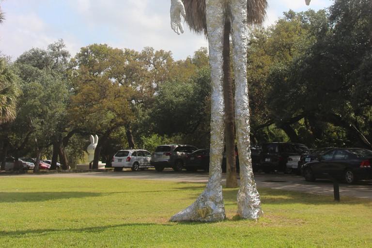 Sculptures on the grounds of Laguna Gloria