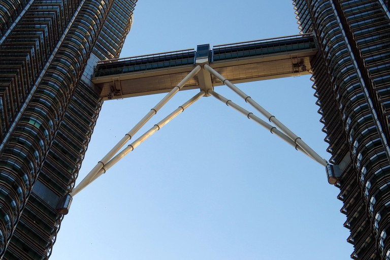 The Sky Bridge of the Petronas Twin Towers