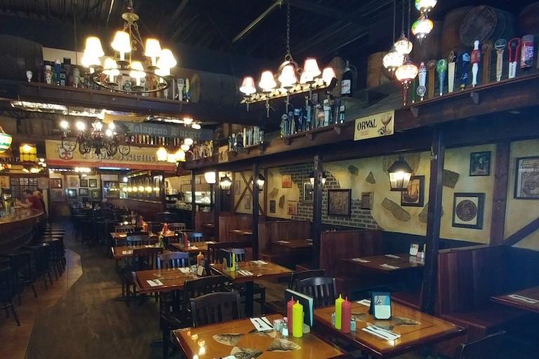 Monk's Pub interior