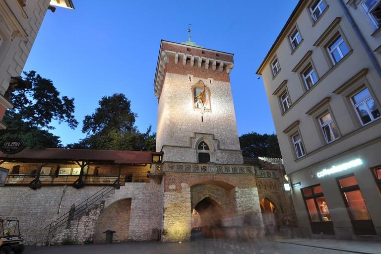 St. Florian Gate, Krakow