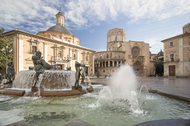 Plaza del Virgen, Valencia