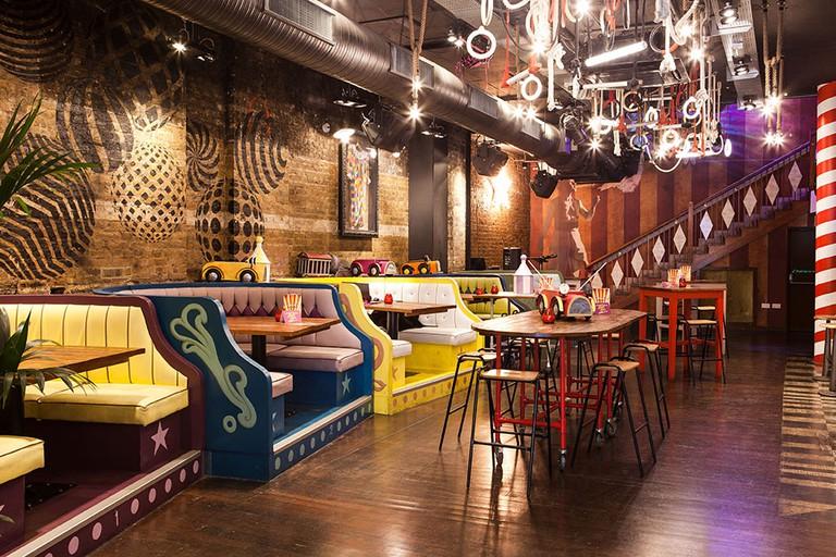 Trapeze Bar, London