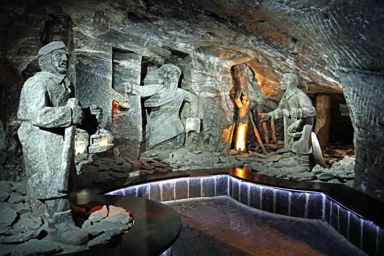 Wieliczka Salt Mines, Krakow