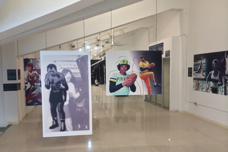 Images from the Puerto Rican Sports Hall of Fame