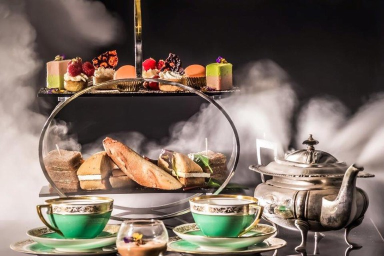 Afternoon tea at The Edgbaston Hotel