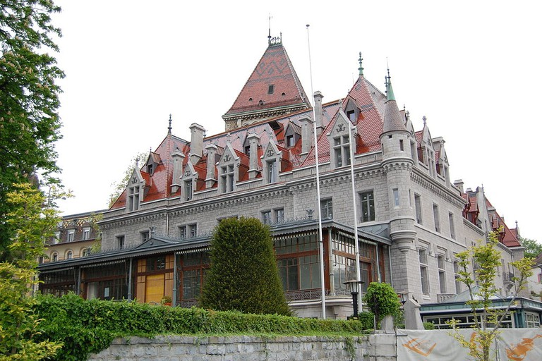 Lausanne's Chateau d'Ouchy
