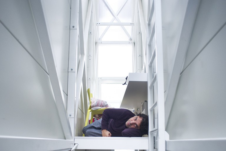 Inside The Keret House