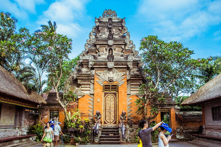 Entrance to Ubud Palace