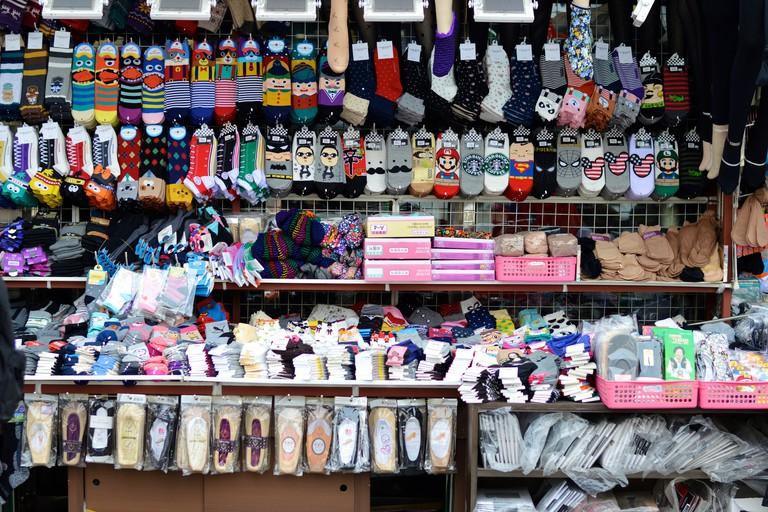 Socks at Dongdaemun Market