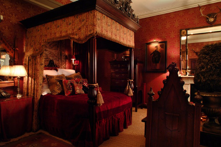 Guest room at The Witchery by the Castle