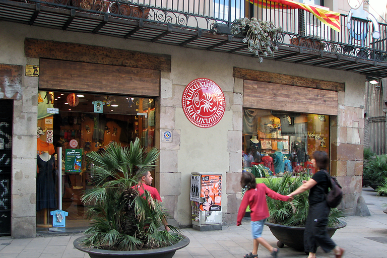 A Kukuxumusu shop in Barcelona