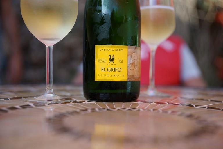 A Spanish sparkling wine form Lanzarote