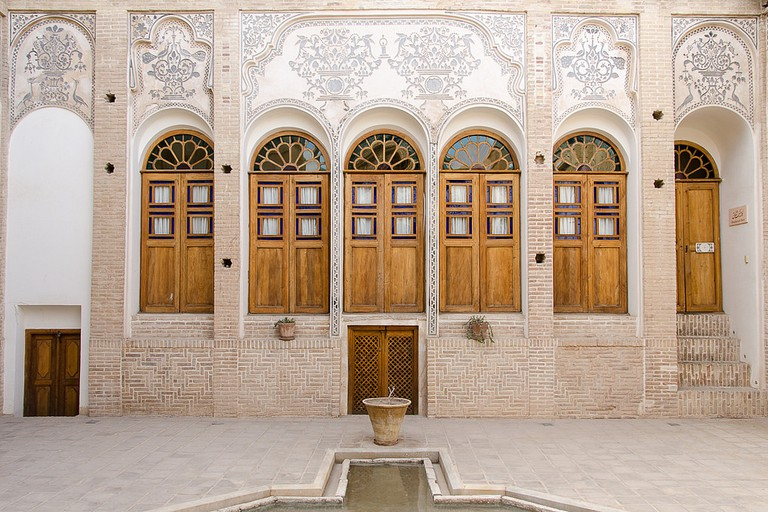 Saraye Ameriha Boutique Hotel is set is one of Kashan's most beautiful traditional houses