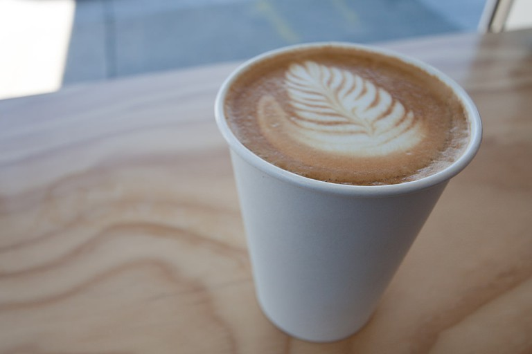 Blue Bottle latte