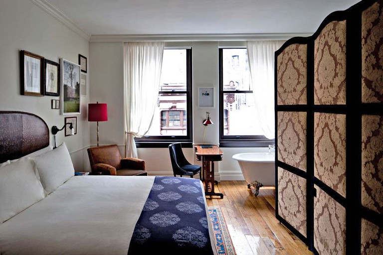 The NoMad Hotel is inspired by the bohemian flats and classic hotels of Paris
