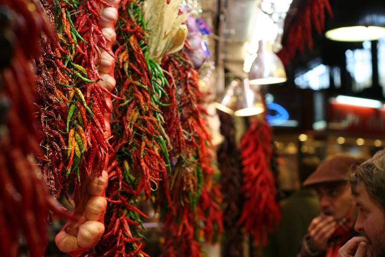 The Boquería market
