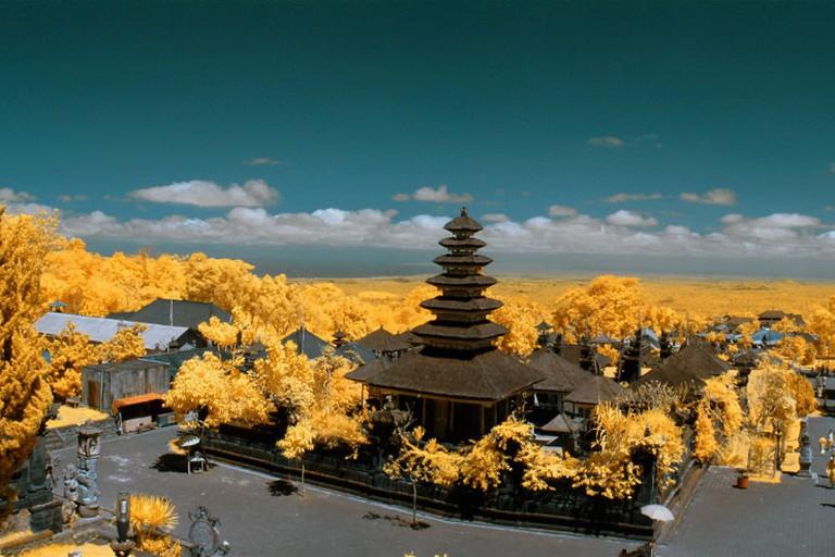 Besakih temple panorama