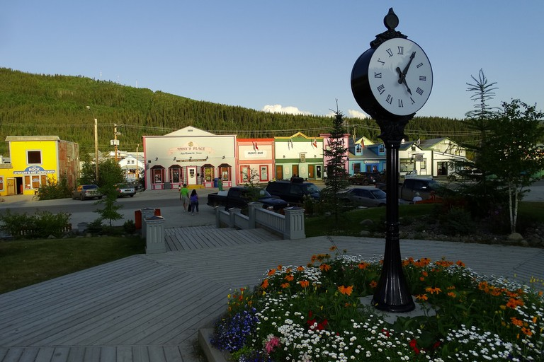 Colourful Dawson City