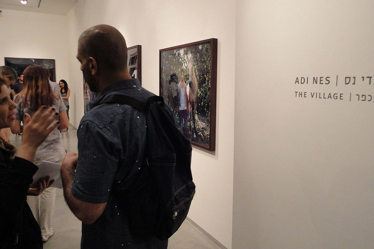 Adi Nes, The Village, show opening at Sommer Contemporary Art in Tel Aviv