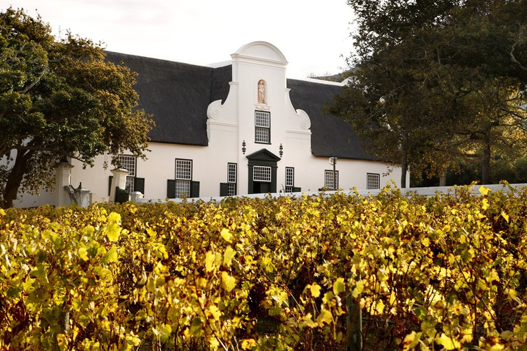 The Groot Constantia Manor House is decorated to recreate the home of a wealthy farm owner from colonial times