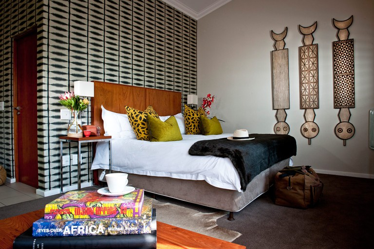 The Peech Hotel is situated close to Johannesburg's business hub