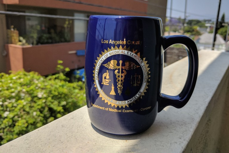 A mug from Skeletons in the Closet