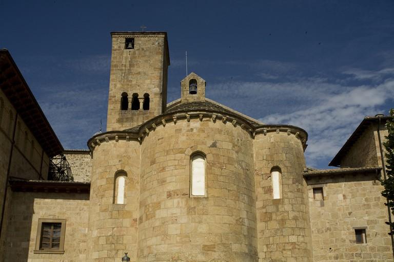 Leyre Monasterio Navarra   ©PMRMaeyaert / Wikimedia Commons