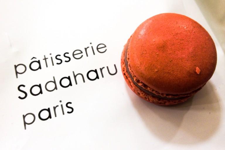 Macaron by Patisserie Sadaharu Aoki Paris