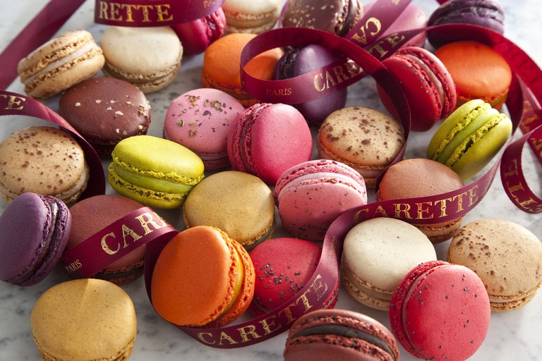 Macarons at Carette │ Courtesy of Carette