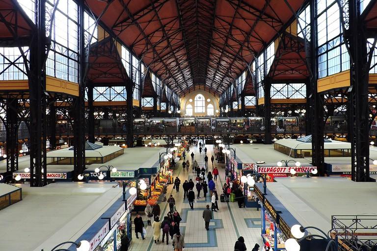 Great Market Hall (Nagyvásárcsarnok), Budapest