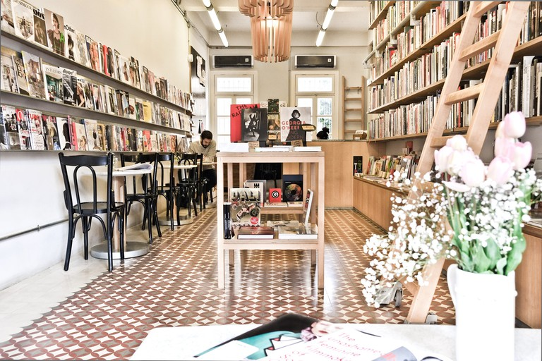 Magazines and books for sale at Papercup