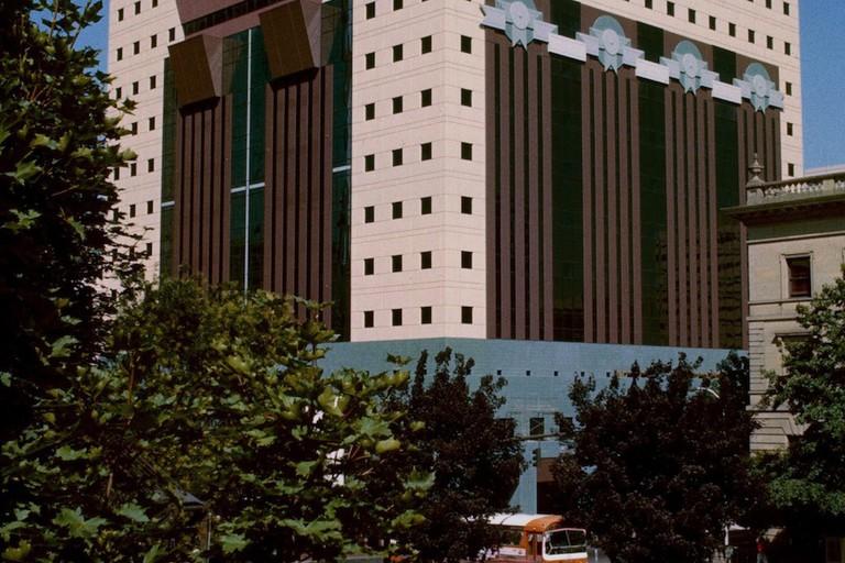Portland Building in 1982