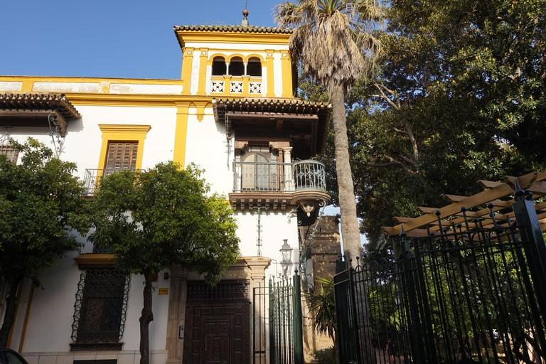 Seville's Romeo and Juliet building; Encarni Novillo