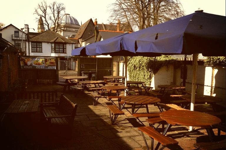 Pen and Wig beer garden